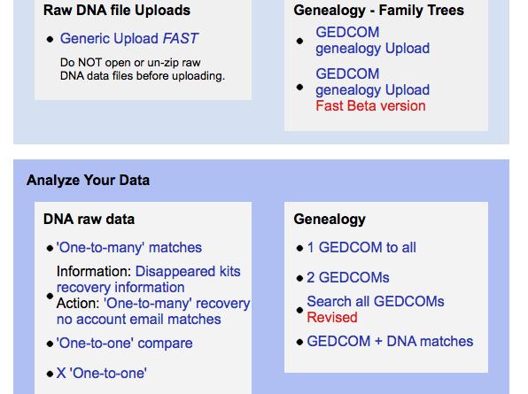 Hur gör jag för ladda upp till Gedmatch com? – DNA med Åsa och Linda